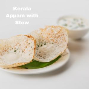 Kerala Appam with Stew