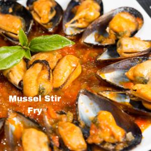 Mussel Stir Fry