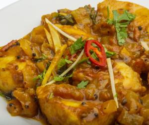 Fish pepper masala